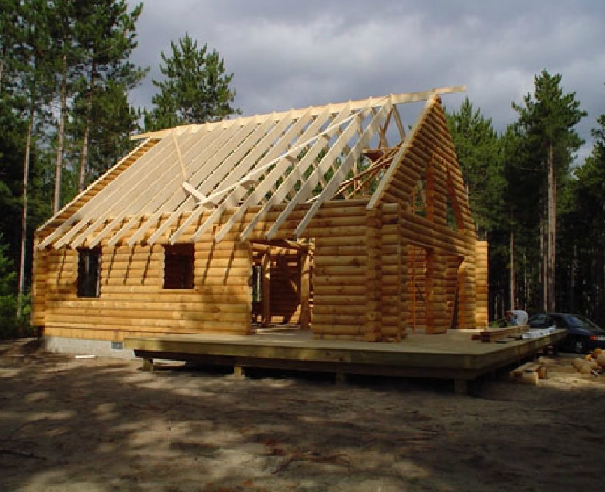 home meadow valley log homes Build Cabin Gallery