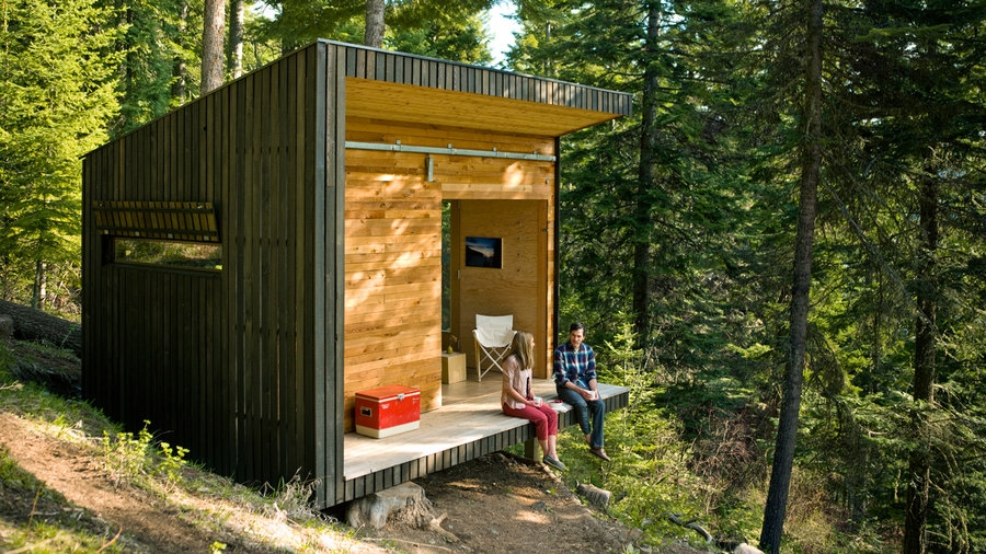 how to build a cabin sunset magazine Small Cabin Build