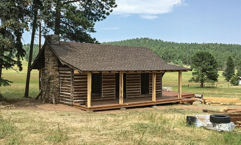 how to build an old school log cabin Small Cabin Build