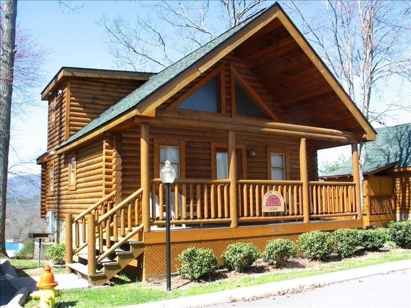 hunters vacation rentals pigeon forge log cabin pigeon Log Cabin Rentals In Pigeon Forge Tn