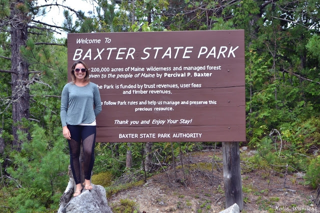 katie wanders visiting baxter state park and camping at Baxter State Park Cabins