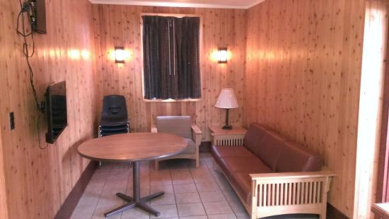 livingdining room in cabin 2 picture of paul b johnson Paul B Johnson State Park Cabins