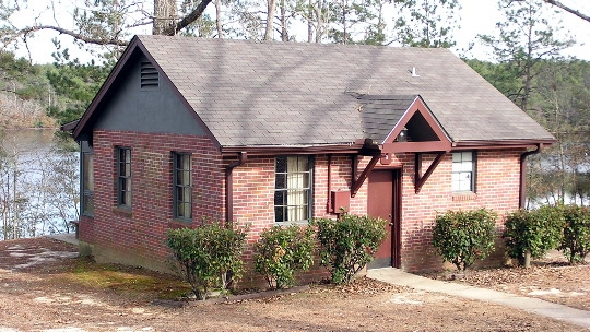 mdwfp cabins and cottages Paul B Johnson State Park Cabins