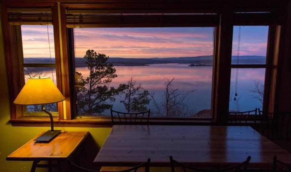 oklahoma state park cabins offer cozy getaway Wister Lake Cabins