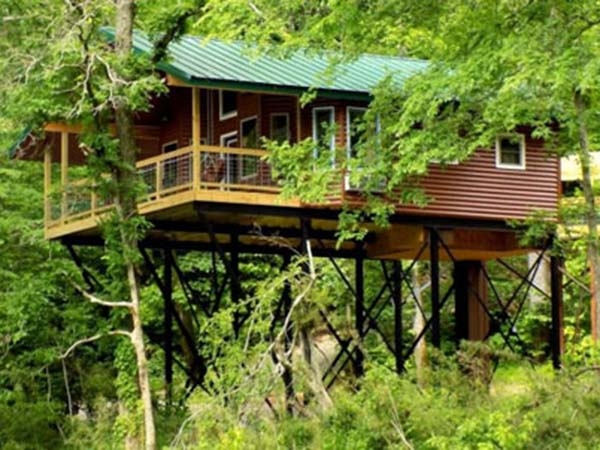 rates treehouse cabins Romantic Cabins In Missouri