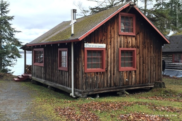 rustic cabin rentals with private loft space near baxter state park maine Baxter State Park Cabins