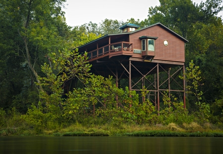 these 6 tree houses in missouri will give you an Romantic Cabins In Missouri
