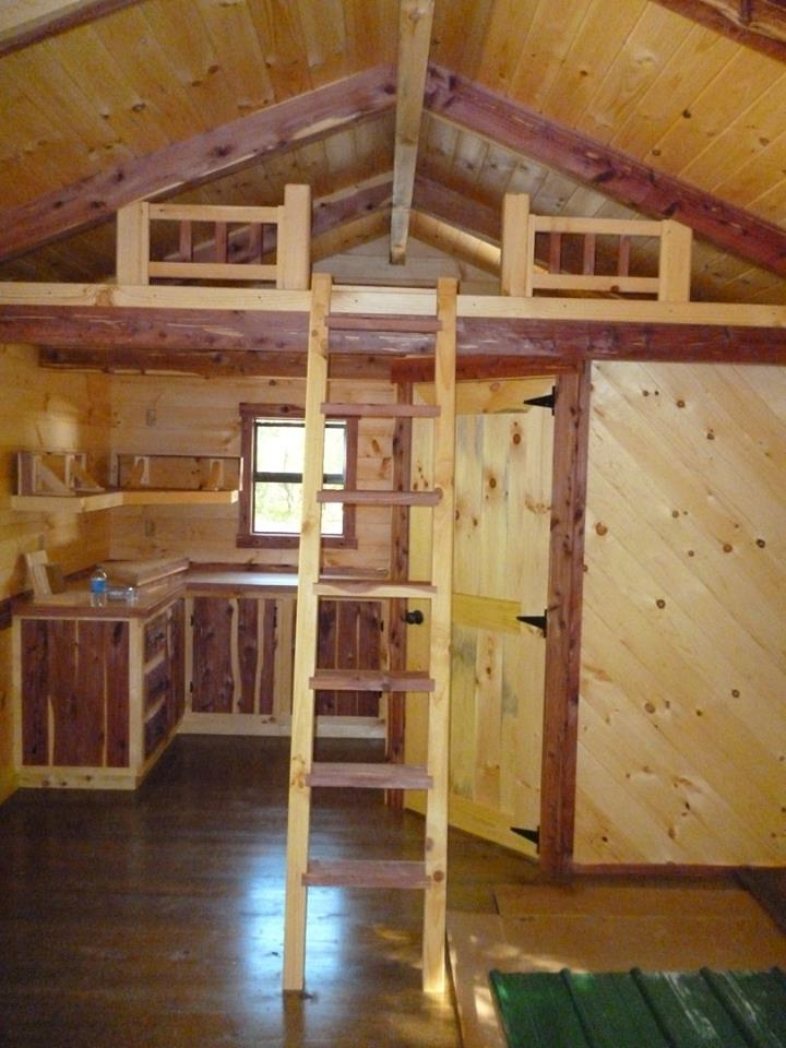 trophy amish log cabins tiny house blog Small Cabins With Loft