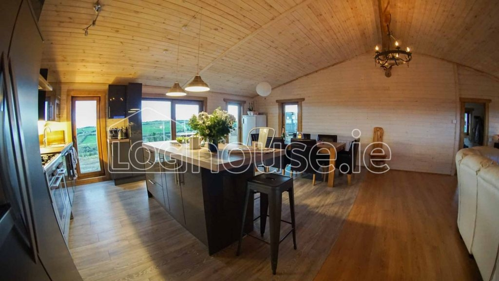 4 bed log cabin v2 loghouse log cabins ireland Bedroom Log Cabin Ireland