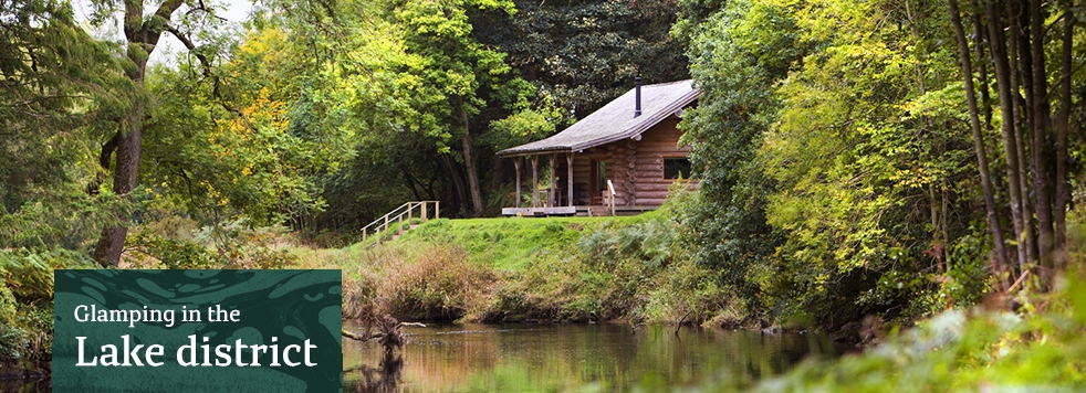 glamping in the lake district lake district holidays Star Log Cabins Lake District