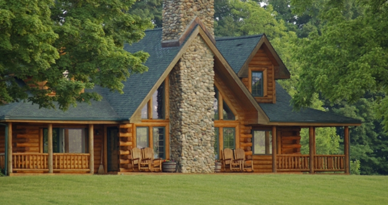 log cabin homes kits exterior photo gallery Log Cabin Homes In Nc