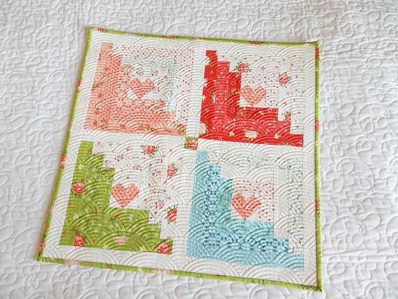 log cabin quilt block easy tutorials a quilting life Log Cabin Block Pattern
