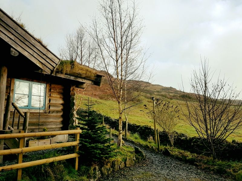 newland valley log cabins cottage in the lake district Star Log Cabins Lake District