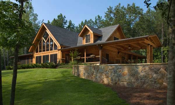 north carolina log cabin for family Log Cabin Homes In Nc