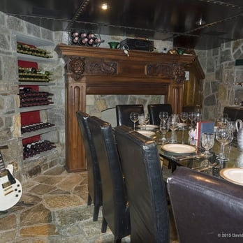 the wine cellar behind a secret door the mansion on o O Street Mansion Log Cabin Room