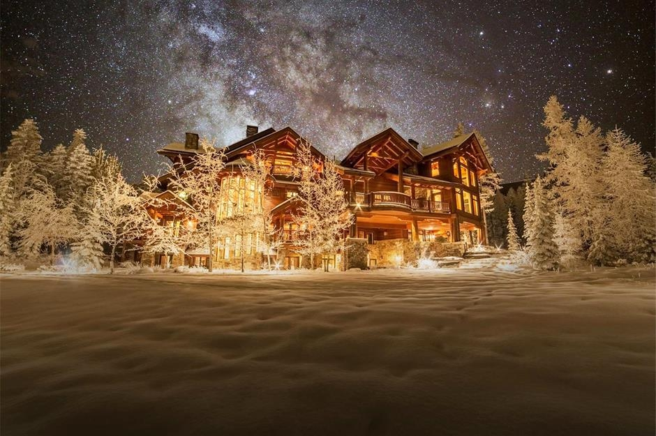 9 luxury log cabins for sale youll want to escape to Luxury Log Cabin Home