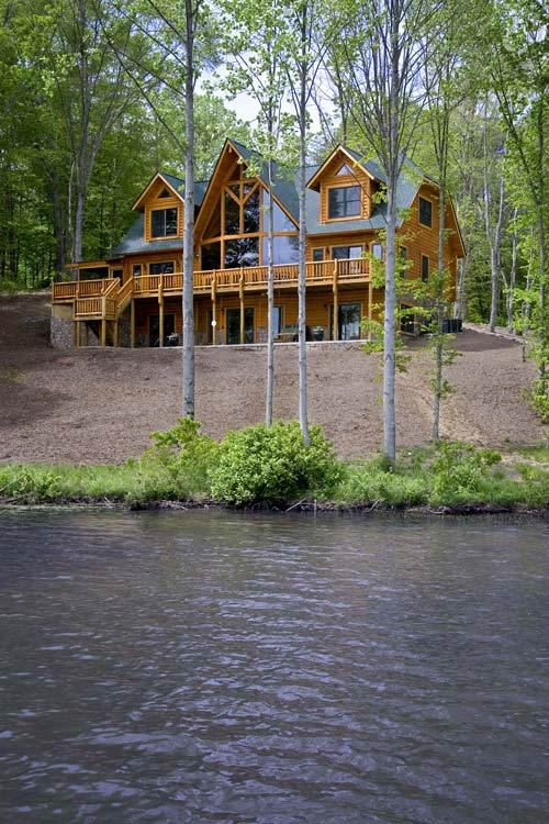 saratoga log homes serving upstate ny from albany to the Log Cabin Upstate New York