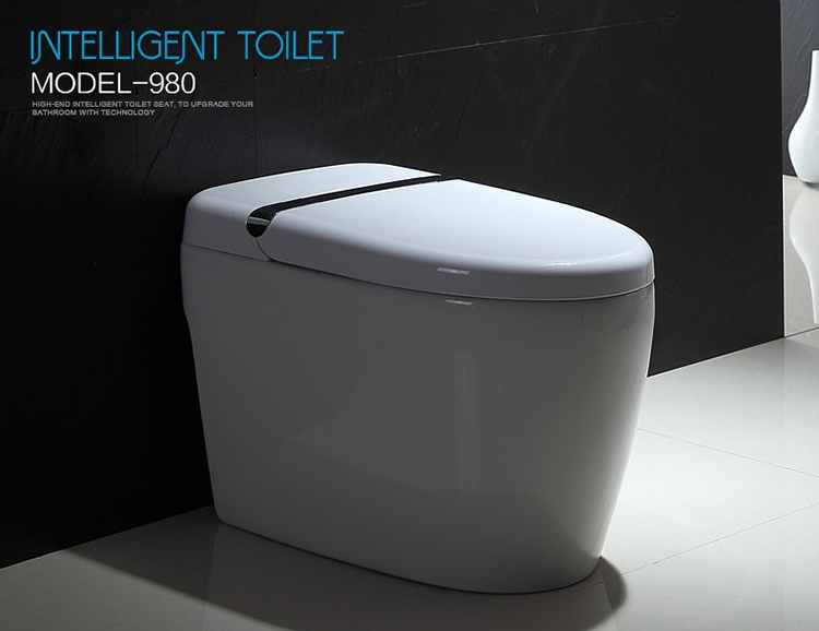 high quality ceramic smart wc bathroom automatic toilet Automatic Bathroom