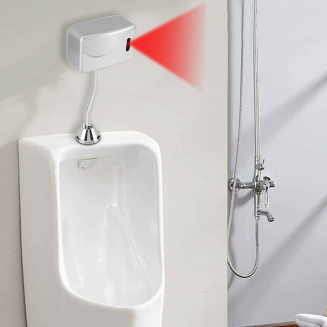 toilet wall mounted automatic sensor touchless urinal flush toilet urinal valve Automatic Bathroom