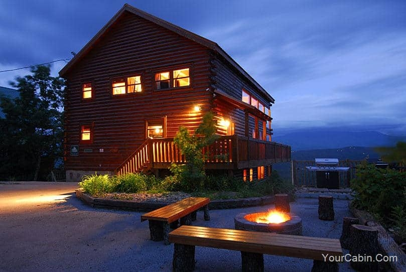 Awesome about us timber tops luxury log cabins gatlinburg and pigeon Timber Tops Cabin Designs