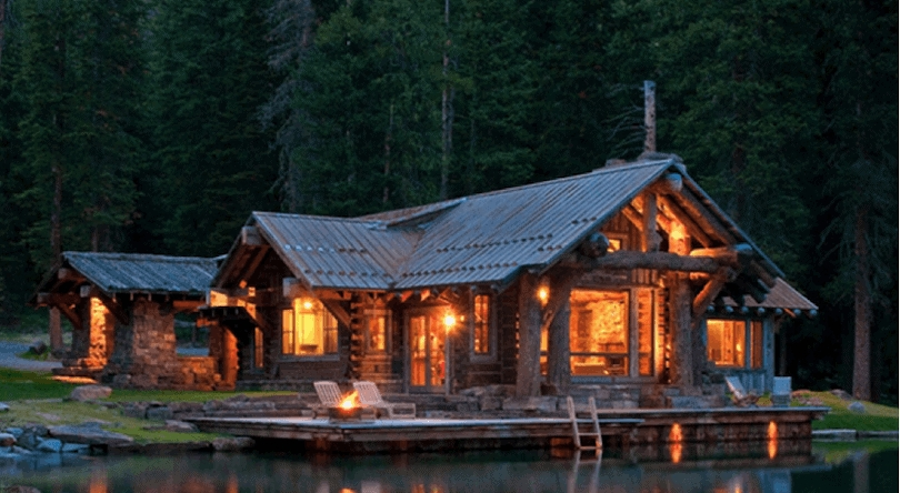 Elegant 10 rustic log cabins that will make you want to sell your Perfect Rustic Cabin Pictures Ideas