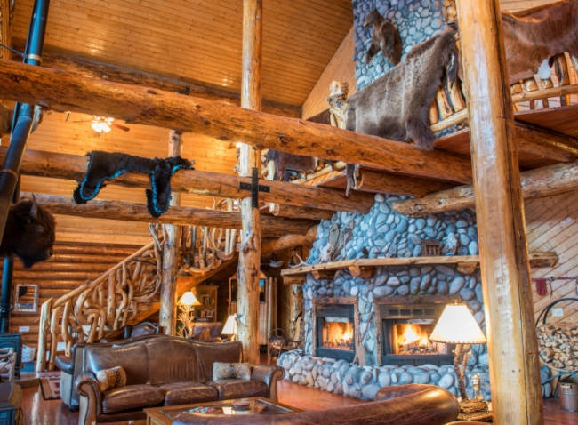 Elegant yellowstone cabin rentals Yellowstone National Park Cabin