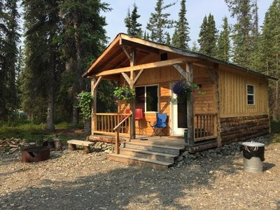 Interesting a small rustic cabin near denali national park cantwell Perfect Rustic Cabin Pictures Ideas