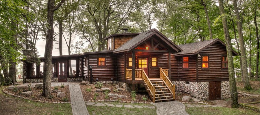 New before and after this might be the most rustic cabin ever Perfect Rustic Cabin Pictures Ideas
