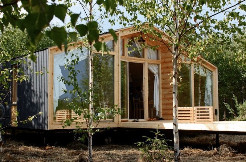 New prefab cabins beautiful homes that cost less than 30000 10 Prefabricated Cabins Gallery