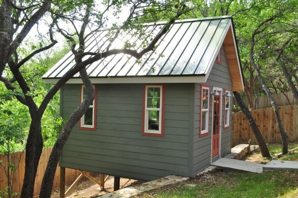 Stylish 14x14 studio cottage kanga 14x14 Cabin With Loft Design
