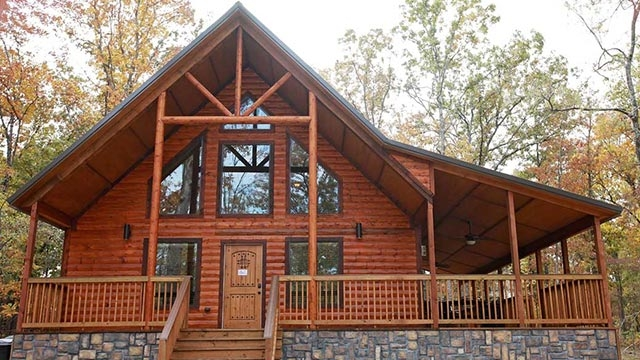 Stylish beavers bend luxury cabin rentals choctaw country Beaver Bend Cabins Designs