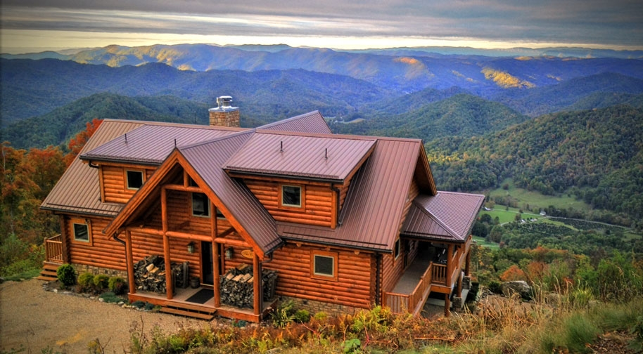 Stylish blue ridge mountains cabins and vacation rentals in nc sc Cabins In South Georgia Ideas