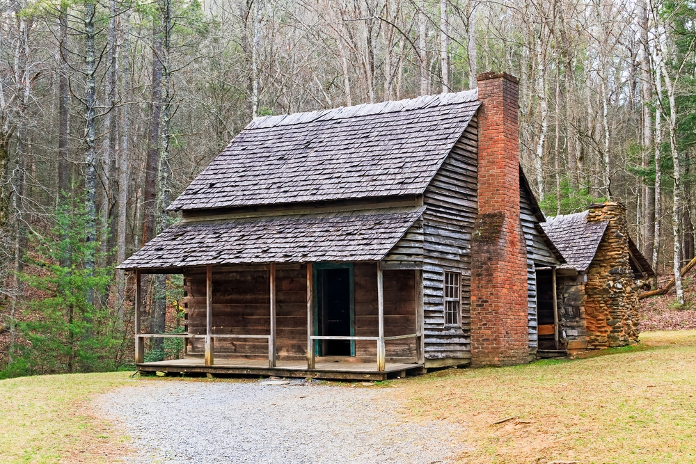 Stylish henry whitehead place in cades cove Cabins Near Cades Cove Ideas