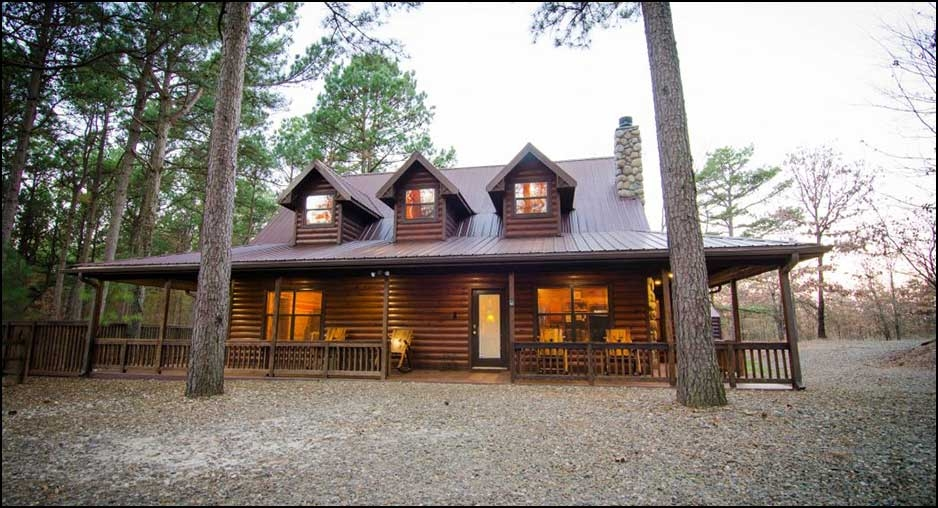 Stylish the m cabin cabin rentals beavers bend lodging Beaver Bend Cabins