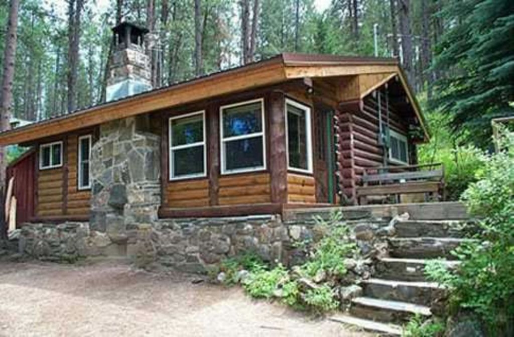 Trend happy trails log cabin silver city Cabins In Black Hills