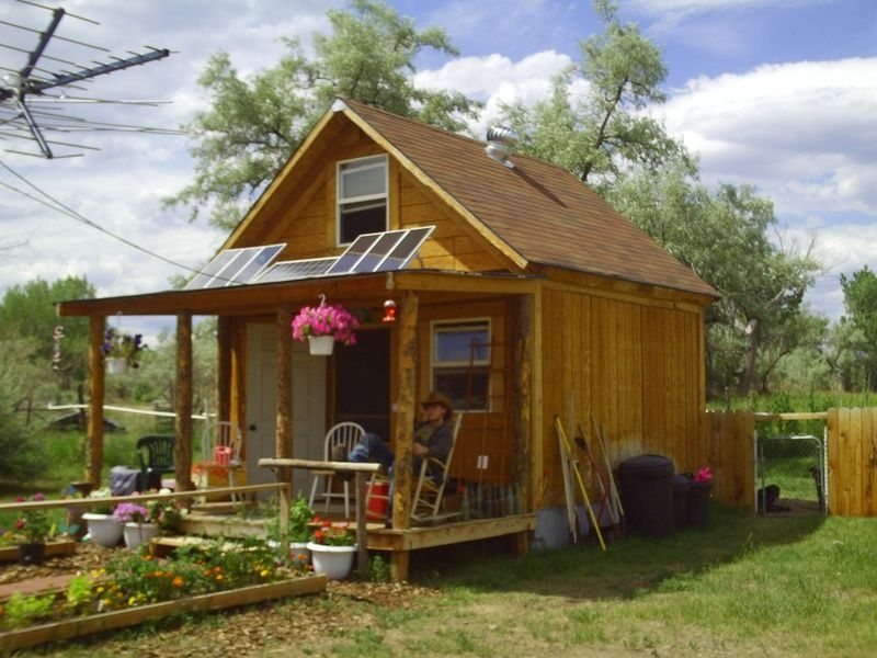 Trend little solar cabin in the woods it is 14x14 with a full 14x14 Cabin With Loft Inspirations