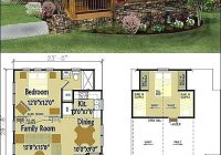 1 bedroom cabin floor plans batuakik 1 Bedroom Cabin Plans