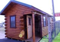 10×20 cottage log cabin 10 X 20 Cabin With Loft