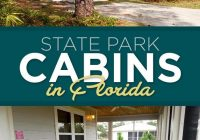 11 cozy cabins for your next overnight adventure in florida Florida State Parks Cabins
