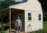 12×12 shed plans start building your own awesome shed today 12×12 Cabin With Loft