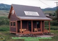 12×16 shed plans outdoorshedplans 12×16 Cabin With Loft Plans