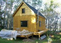 14 x 24 owner built cabin Small Camp Plans