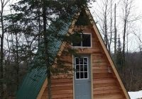 1414 a frame tiny cabin built from one of lamar alexanders 14×14 Cabin With Loft Ideas