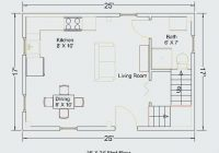 16×24 cabin plans with loft how much does it cost to build a 16×24 Cabin Plans With Loft
