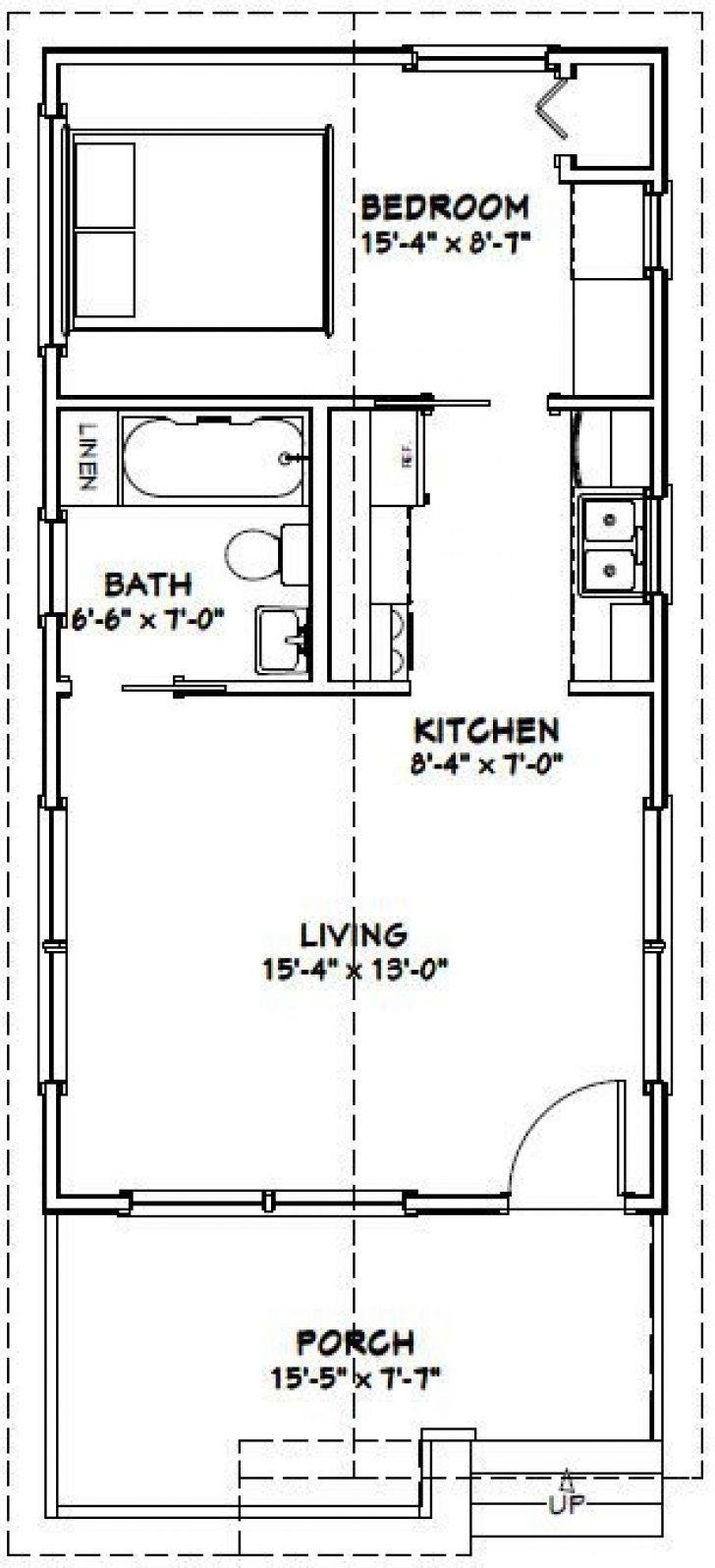 Permalink to 16×30 Small Cabin Plans