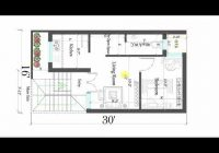 16×30 ft best small house plan youtube 16×30 Small Cabin Plans