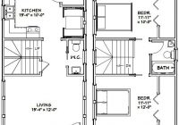 16×30 house 16x30h8s 878 sq ft excellent floor 16×30 Small Cabin Plans