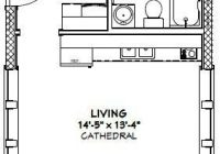 16×30 tiny house 16x30h13a 480 sq ft excellent 16×30 Small Cabin Plans