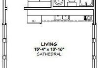 16×30 tiny house 16x30h2 480 sq ft excellent floor 16×30 Small Cabin Plans
