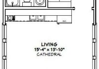 16×30 tiny house 16x30h3a 480 sq ft excellent floor 16×30 Small Cabin Plans